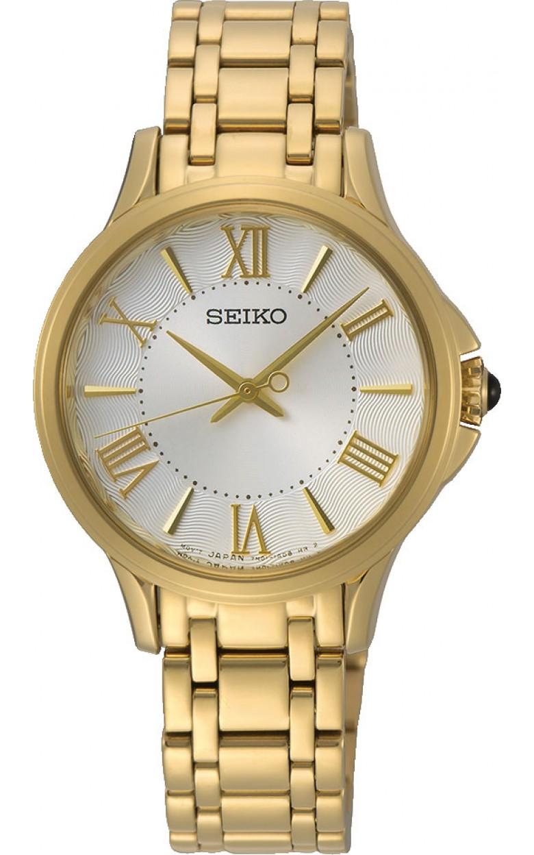 """SRZ528P1  водонепроницаемые кварцевые наручные часы Seiko """"Conceptual Series Dress"""" для женщин с сапфировым стеклом SRZ528P1"""