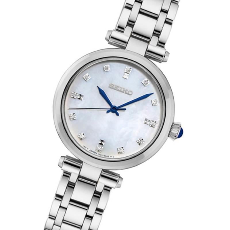 """SRZ529P1  водонепроницаемые кварцевые наручные часы Seiko """"Conceptual Series Dress"""" для женщин с сапфировым стеклом SRZ529P1"""