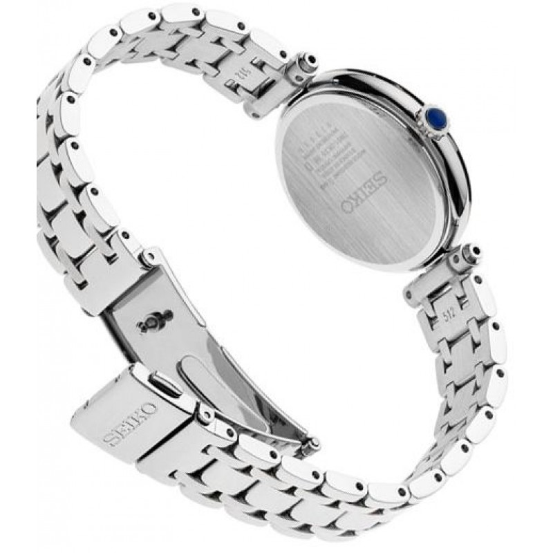 """SRZ531P1  водонепроницаемые кварцевые наручные часы Seiko """"Conceptual Series Dress"""" для женщин с сапфировым стеклом SRZ531P1"""