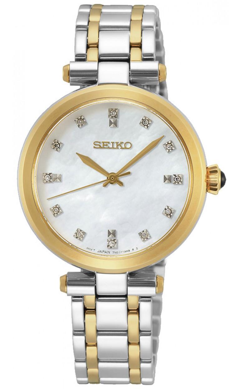 "SRZ532P1  водонепроницаемые женские кварцевые часы Seiko ""Conceptual Series Dress"" с сапфировым стеклом SRZ532P1"