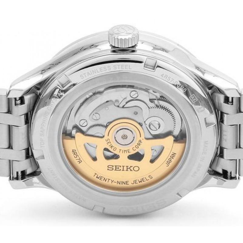 """SSA395J1  механические с автоподзаводом наручные часы Seiko """"Presage"""" с сапфировым стеклом SSA395J1"""