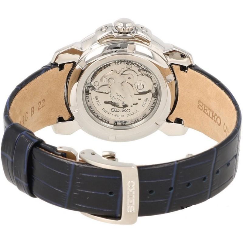 """SSA399J1  мужские механические наручные часы Seiko """"Premier"""" с сапфировым стеклом SSA399J1"""