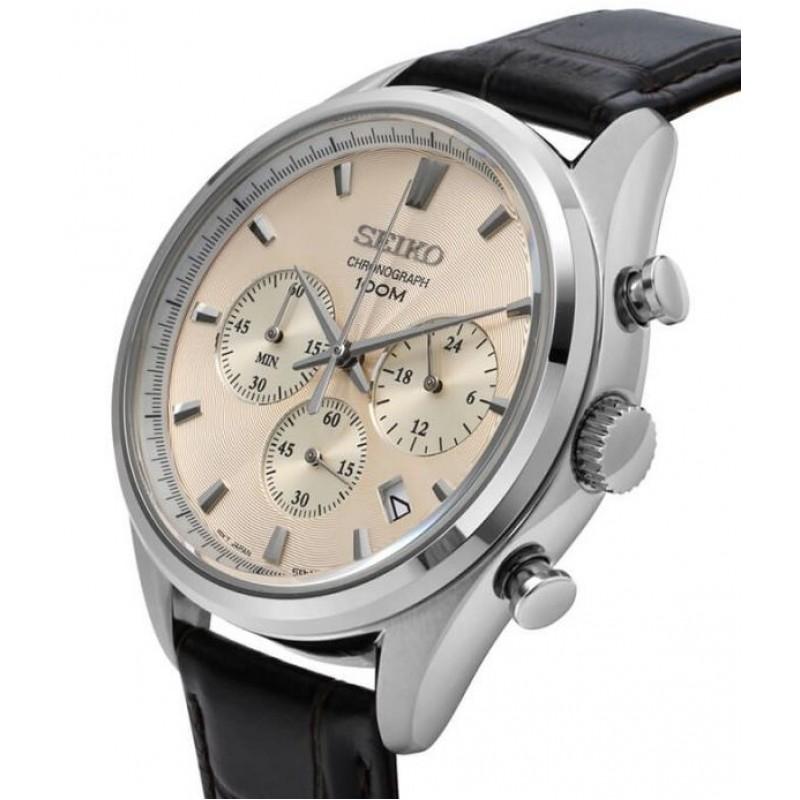 """SSB293P1 японские кварцевые наручные часы Seiko """"CS Dress"""" для мужчин  SSB293P1"""