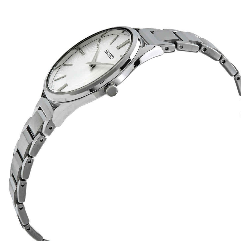 """SWR031P1  водонепроницаемые кварцевые наручные часы Seiko """"Conceptual Series Dress"""" для женщин с упрочненным стеклом SWR031P1"""