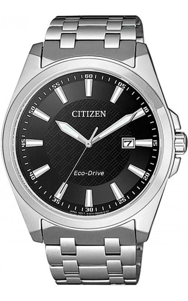 """BM7108-81E  кварцевые наручные часы Citizen """"Eco-Drive"""" с сапфировым стеклом BM7108-81E"""