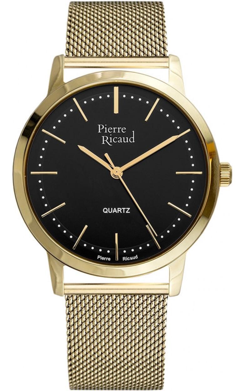P91091.1114Q  мужские кварцевый хронограф часы Pierre Ricaud  P91091.1114Q
