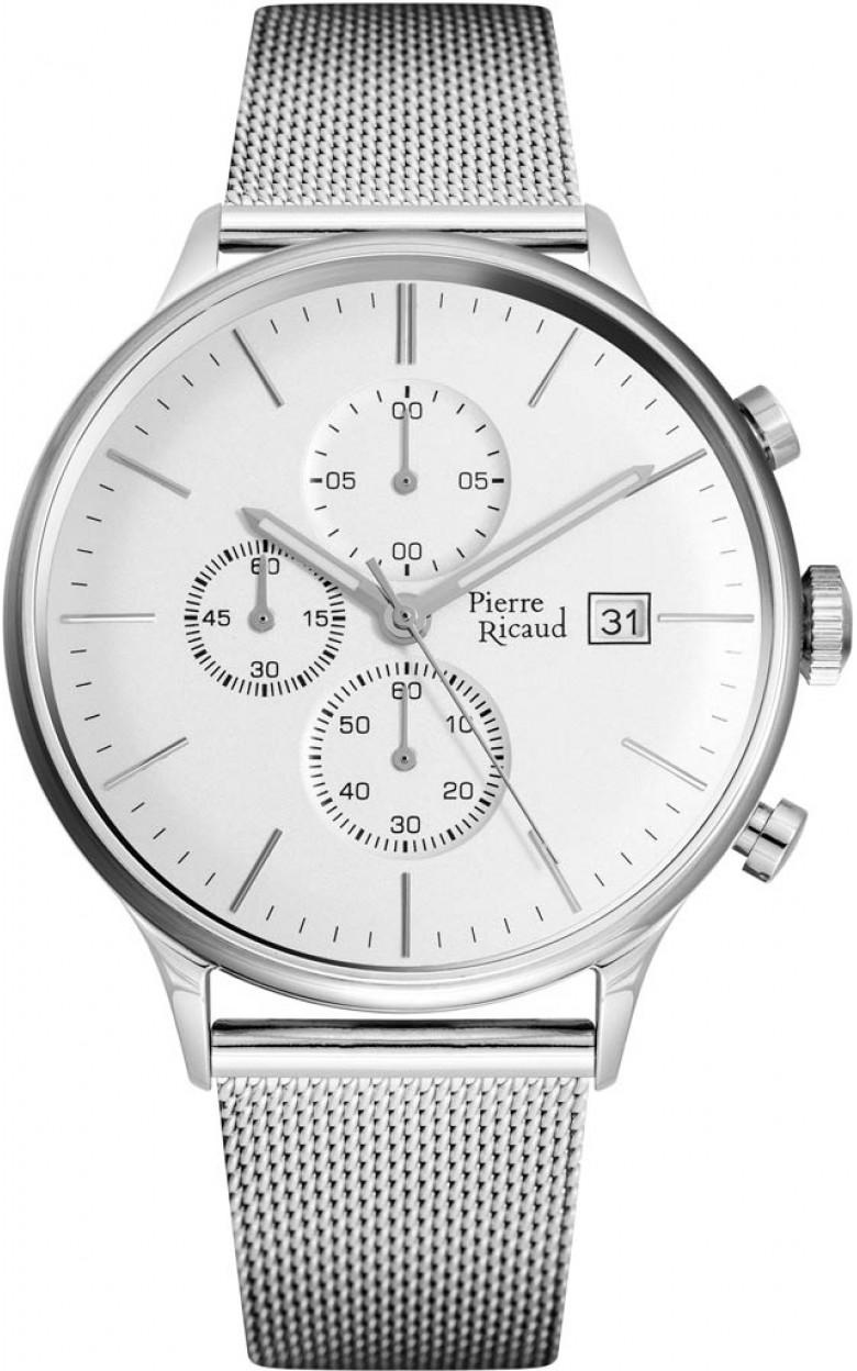 P97206.5113CH  кварцевые наручные часы Pierre Ricaud  P97206.5113CH