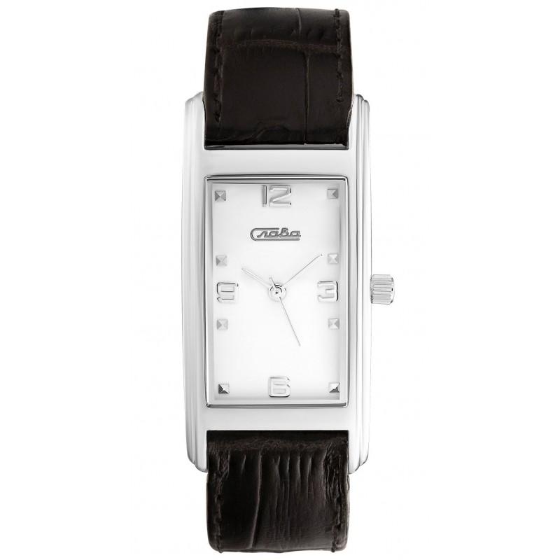 0251650/2035 российские женские кварцевые наручные часы Слава 0251650/2035