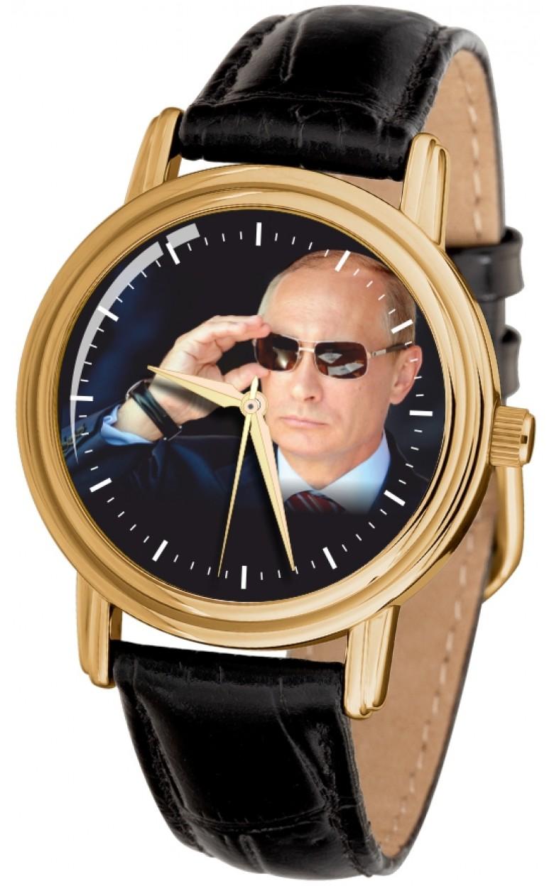 """1069602/300-2035  кварцевые наручные часы Слава """"Патриот"""" логотип Путин  1069602/300-2035"""