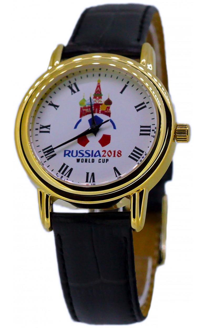 """1069912/300-2035  кварцевые часы Слава """"Патриот"""" логотип Россия 2018  1069912/300-2035"""