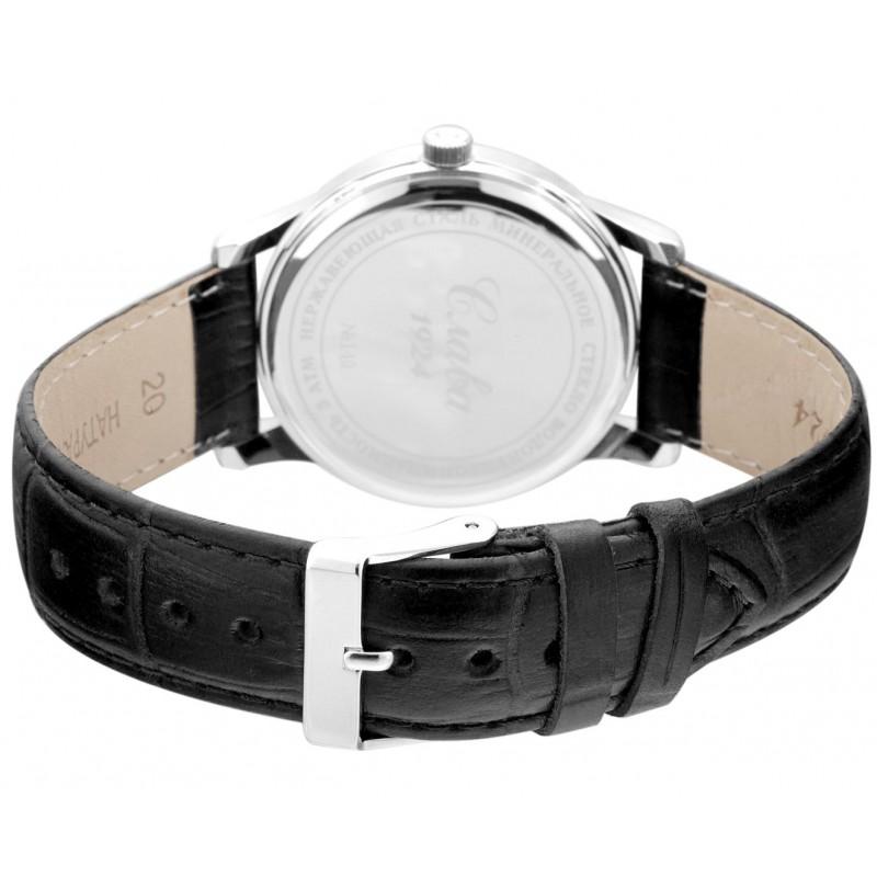"""1401721/2115-300 российские кварцевые наручные часы Слава """"Традиция"""" для мужчин логотип Герб РФ  1401721/2115-300"""