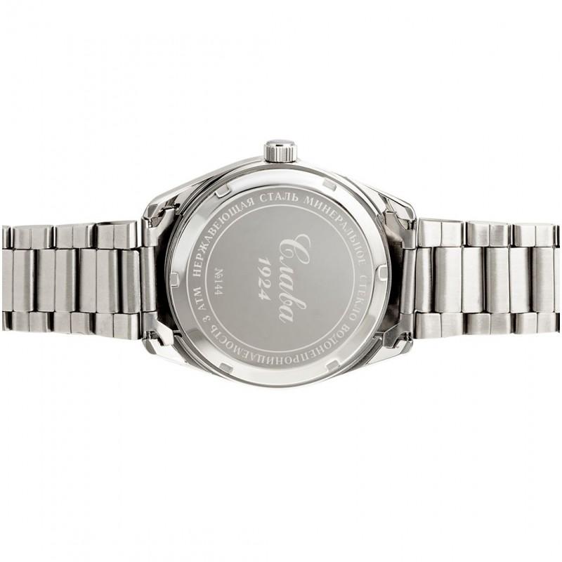 """1441037/100-2115  мужские кварцевые часы Слава """"Традиция""""  1441037/100-2115"""