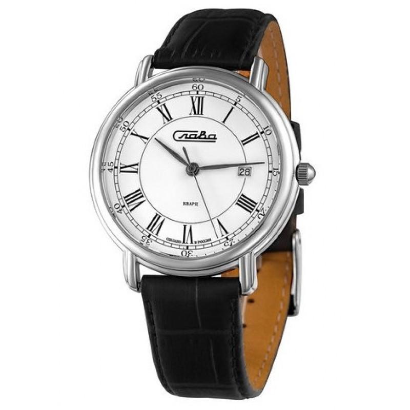 """1481842/300-GM10 Часы наручные """"Слава"""" кварцевые"""