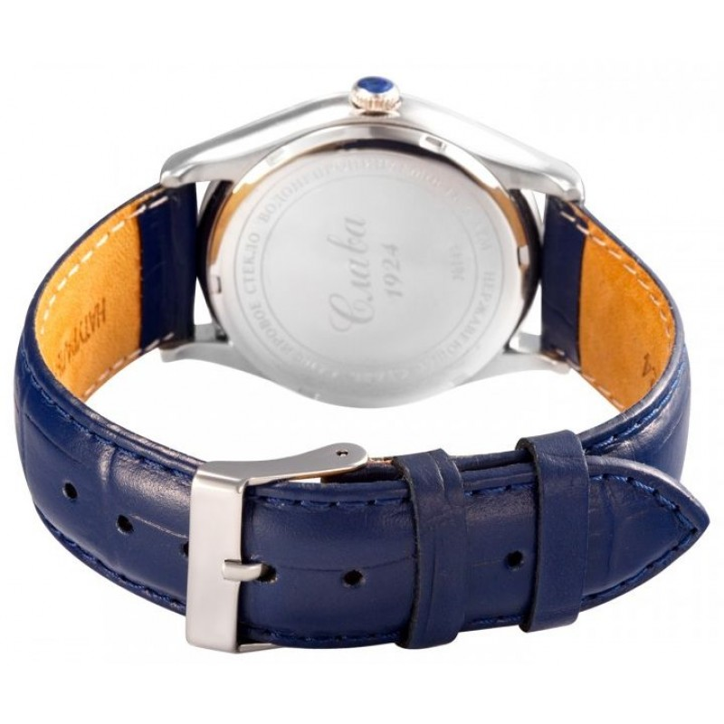 1490852/300-8215 российские мужские механические с автоподзаводом наручные часы Слава