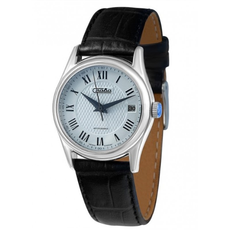 1500863/300-NH15  механические с автоподзаводом наручные часы Слава с сапфировым стеклом 1500863/300-NH15