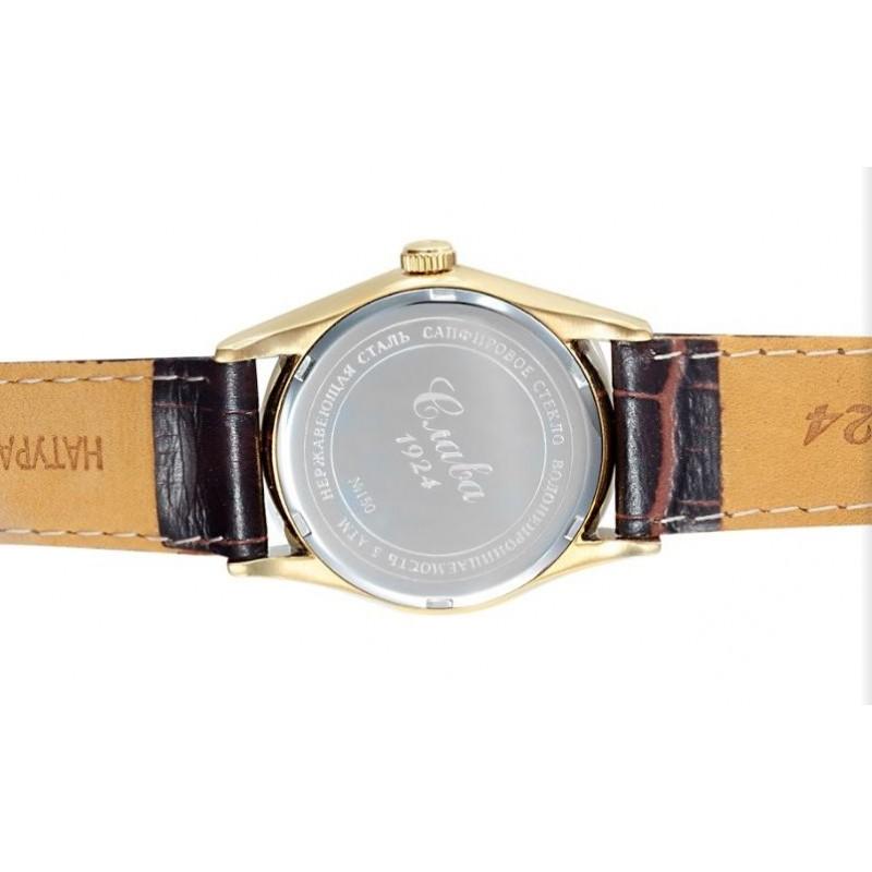 1509869/300-NH15  механические с автоподзаводом часы Слава логотип Герб РФ с сапфировым стеклом 1509869/300-NH15