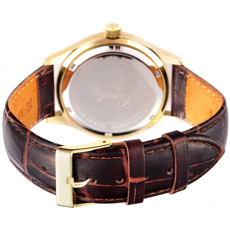 """1589800/300-2115  кварцевые наручные часы Слава """"Традиция"""" для мужчин  1589800/300-2115"""