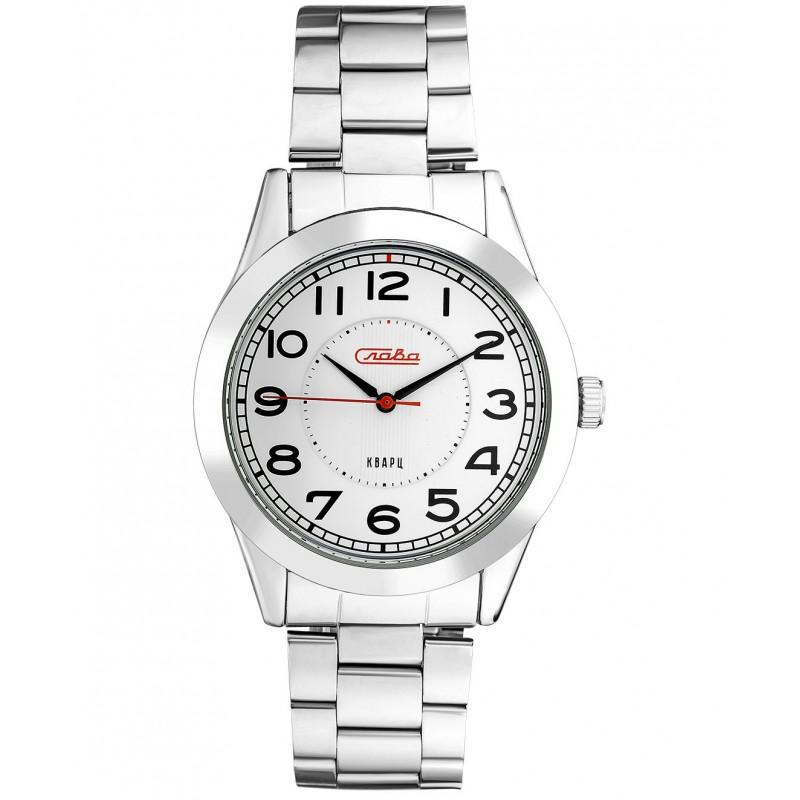 """1731225/2035-100  кварцевые наручные часы Слава """"Традиция""""  1731225/2035-100"""