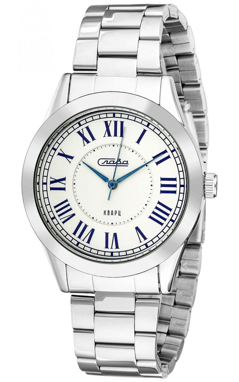 "1731226/2035-100  унисекс кварцевые наручные часы Слава ""Традиция""  1731226/2035-100"