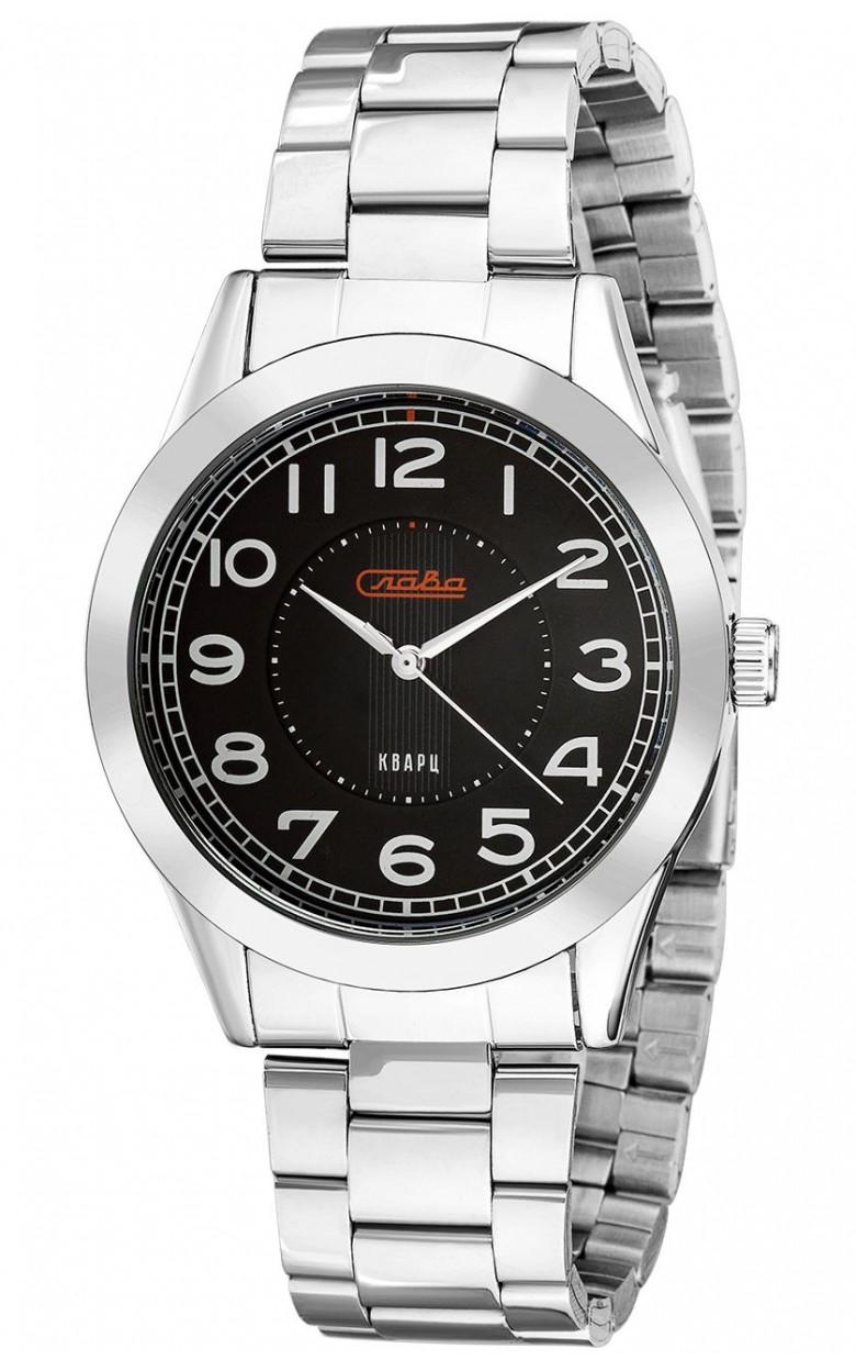 """1731228/2035-100  кварцевые наручные часы Слава """"Традиция""""  1731228/2035-100"""