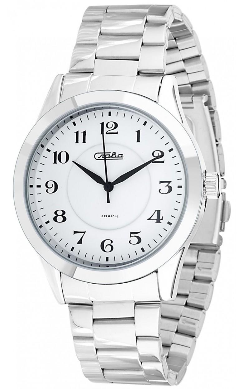 1731985/2035-100 российские универсальные кварцевые часы Слава