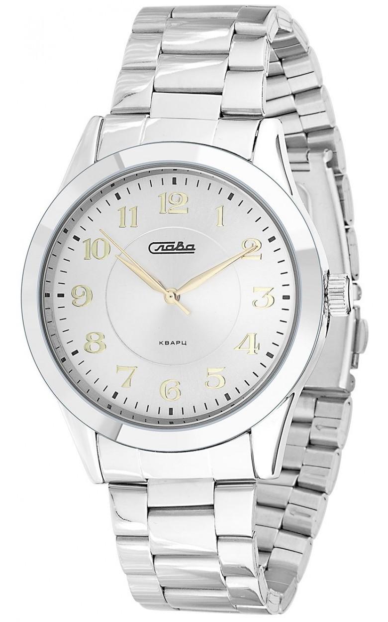 1731986/2035-100 российские универсальные кварцевые наручные часы Слава