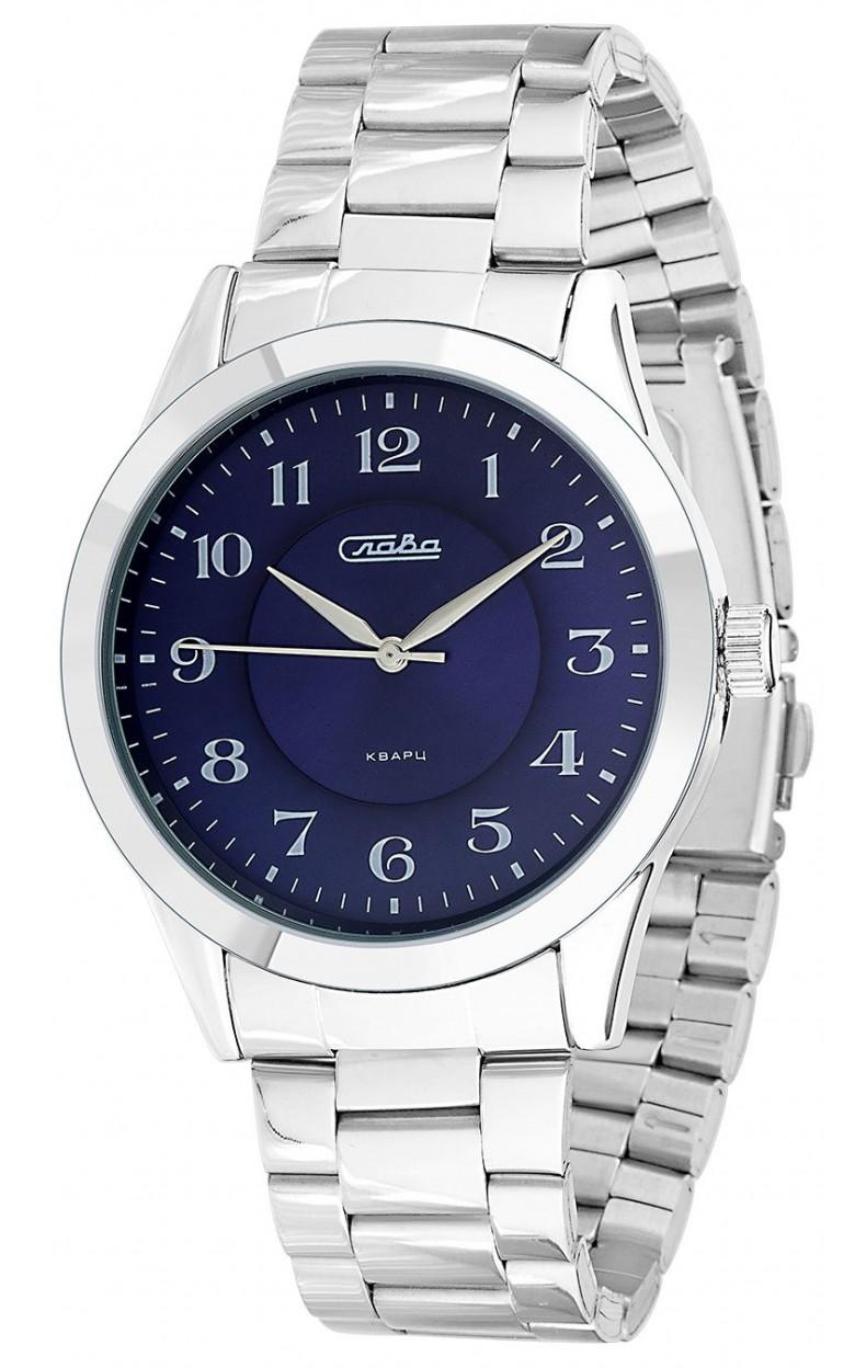 1731988/2035-100 Российские кварцевые наручные часы Слава 1731988/2035-100