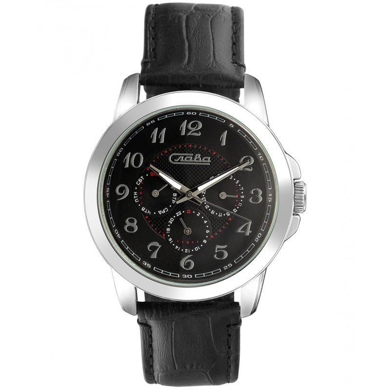 """2251240/6Р29-300  кварцевые наручные часы Слава """"Традиция""""  2251240/6Р29-300"""
