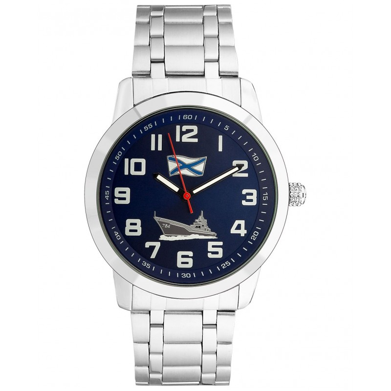 """С2971452/2035-100  в стиле милитари мужские кварцевые наручные часы Спецназ """"Атака""""  С2971452/2035-100"""