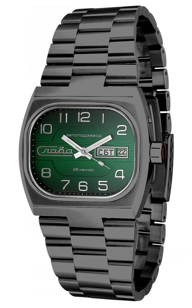 7626022/100-2427 Российские механические наручные часы Слава