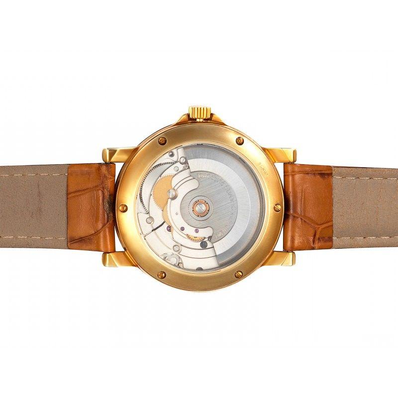 С511/2824-31,60 российские золотые мужские механические наручные часы Слава  С511/2824-31,60