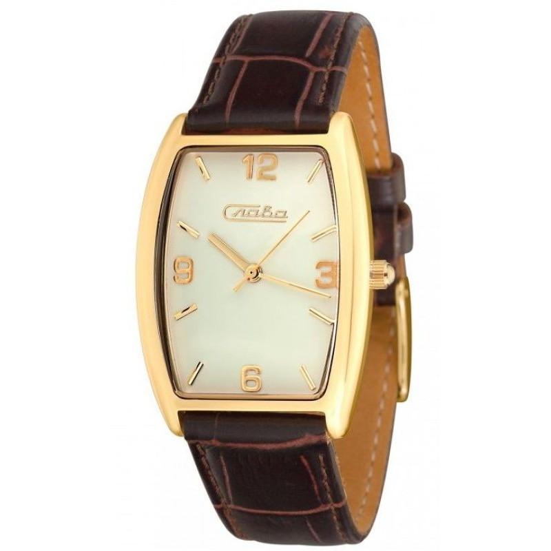 0319651/2035 российские женские кварцевые наручные часы Слава
