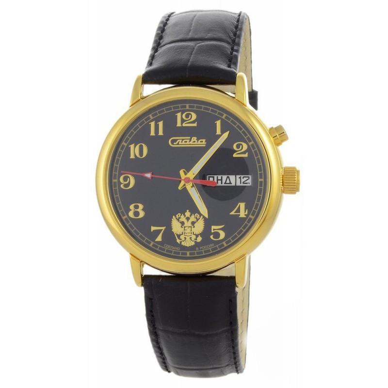 1229436/300-2427 российские мужские механические часы Слава