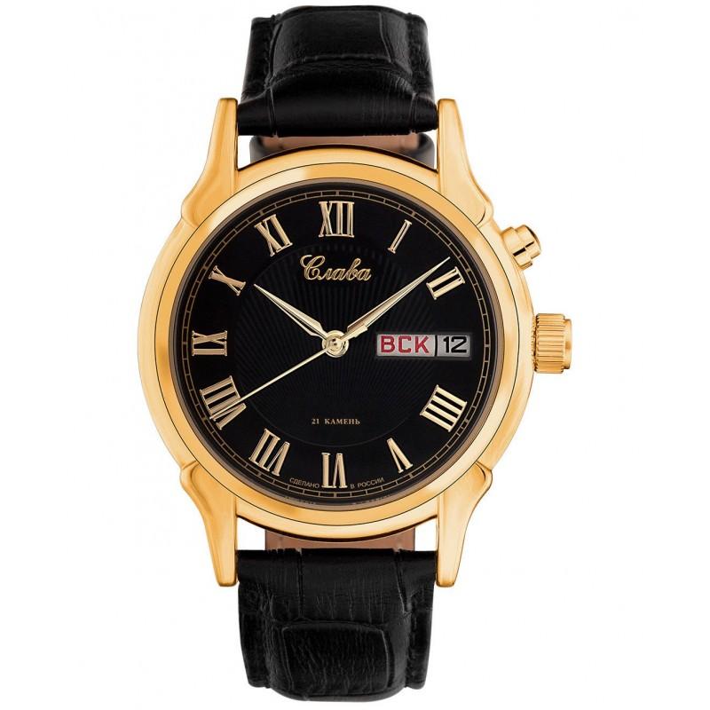 1239413/300-2428 российские мужские механические наручные часы Слава