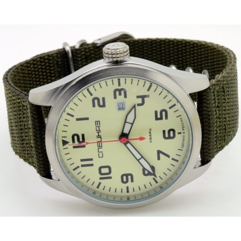С2861316-2115-09 российские военные кварцевые наручные часы Спецназ С2861316-2115-09