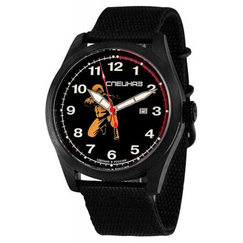 """С2864317-2115-09  кварцевые наручные часы Спецназ """"Атака"""" для мужчин  С2864317-2115-09"""