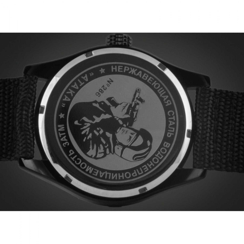 С2864326-2115-09 российские военные кварцевые наручные часы Спецназ