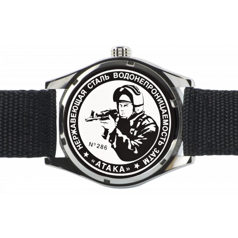 С2864328-2115-09 российские мужские кварцевые наручные часы Спецназ
