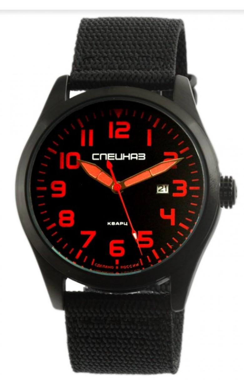 С2864346-2115-09 российские военные мужские кварцевые наручные часы Спецназ С2864346-2115-09