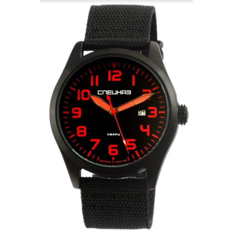 С2864346-2115-09 российские военные мужские кварцевые наручные часы Спецназ