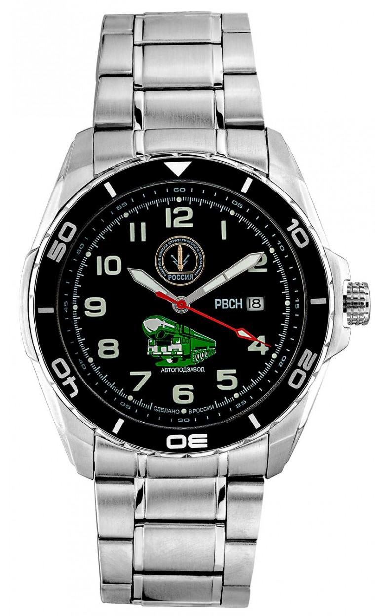 С8500250-8215  механические с автоподзаводом часы Спецназ логотип ВС России  С8500250-8215