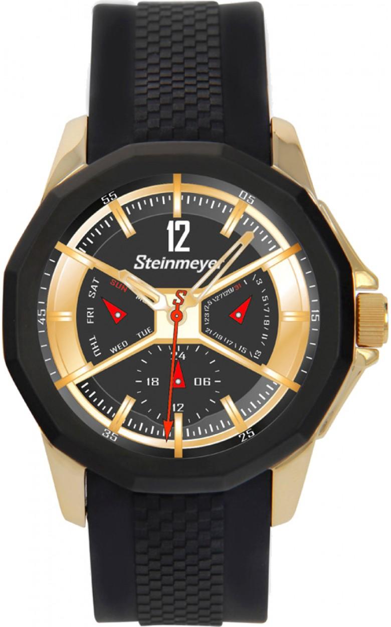 """S 126.83.31  кварцевые наручные часы Steinmeyer """"Ring Racing"""" для мужчин  S 126.83.31"""