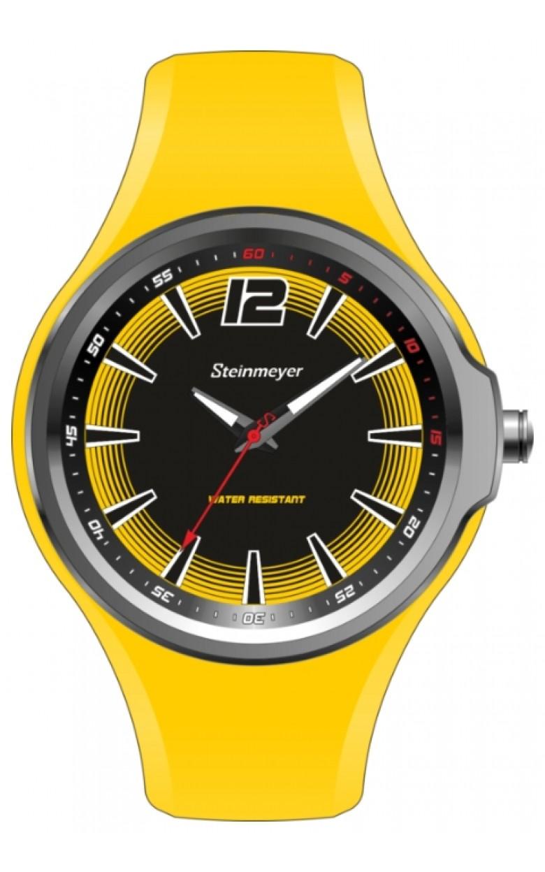 """S 191.16.36  кварцевые наручные часы Steinmeyer """"Motocross"""" для мужчин  S 191.16.36"""
