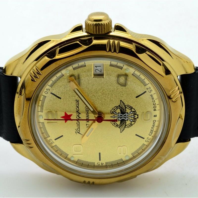 219451/2414 российские военные мужские механические часы Восток