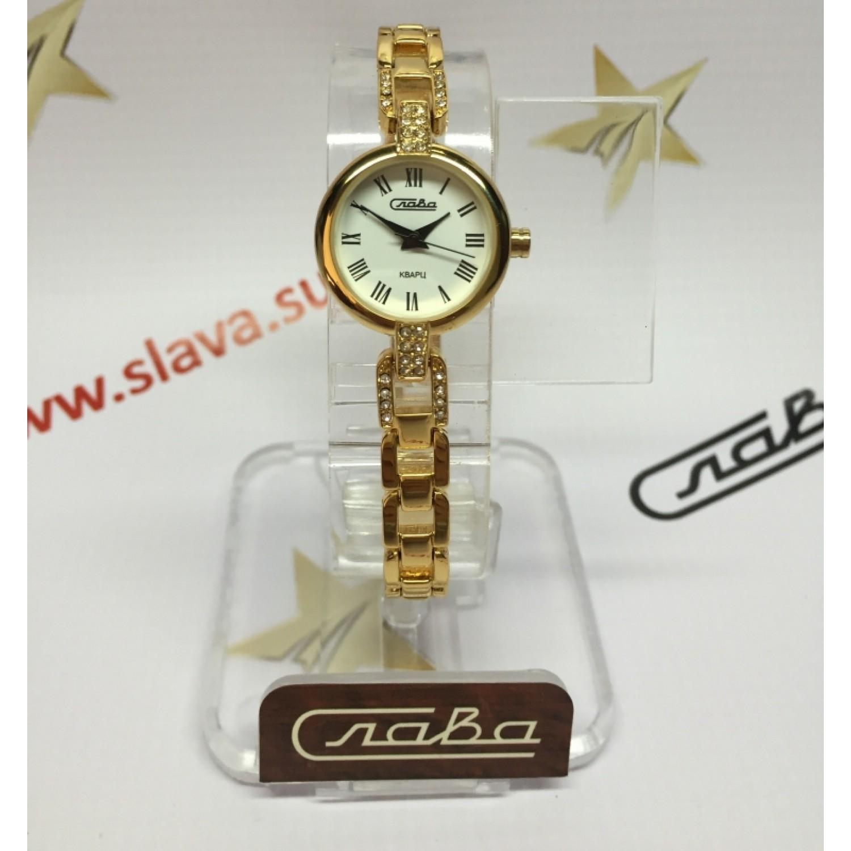 6083119/2035 российские женские кварцевые часы Слава