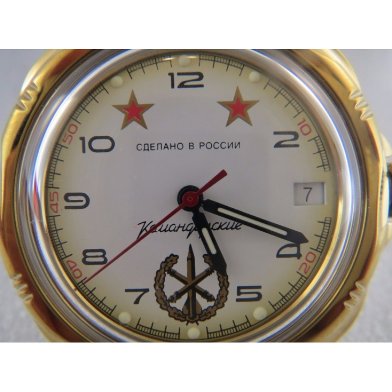 """219075/2414 российские мужские механические часы Восток """"Командирские"""" для военных  219075/2414"""