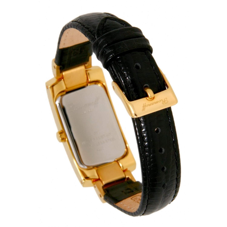 4203A1BL российские кварцевые наручные часы Romanoff