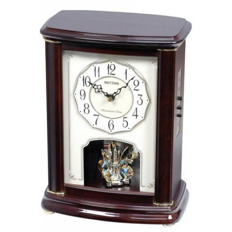CRH212NR06 японские кварцевые настольные часы Rhythm  CRH212NR06