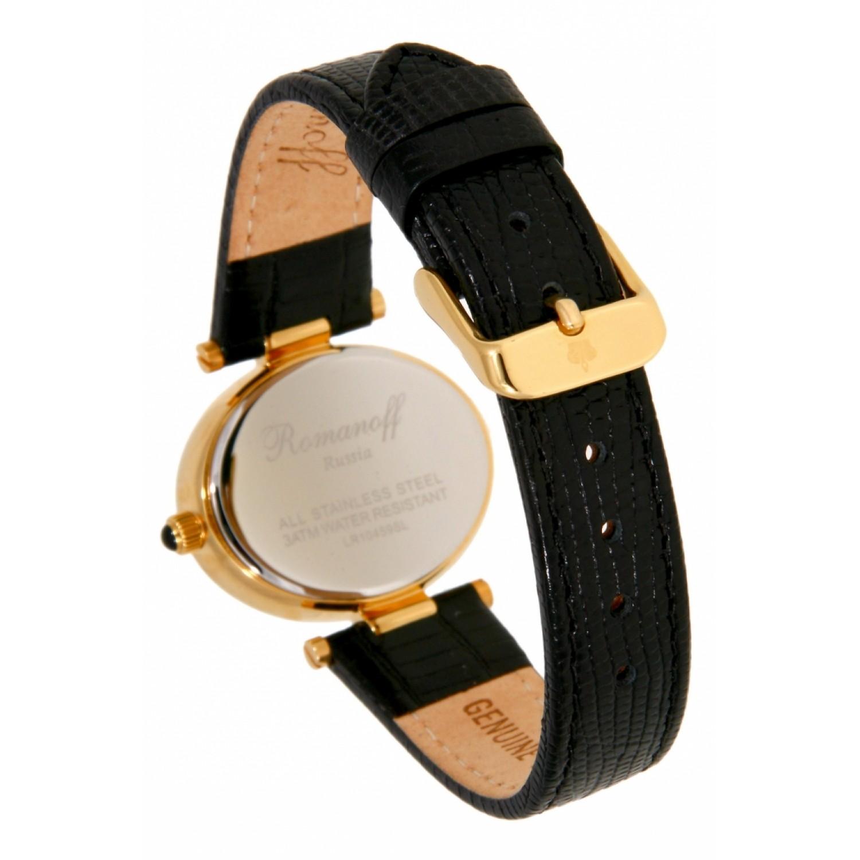 10459A1BL российские кварцевые наручные часы Romanoff