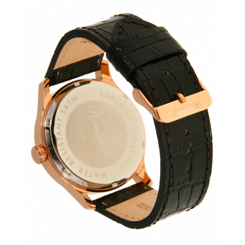 """30521A1BL российские кварцевые наручные часы Romanoff """"Классика"""" для мужчин  30521A1BL"""